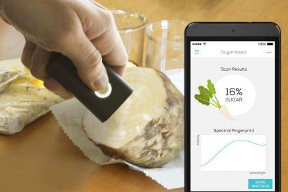 SCiO scanning sugar beet